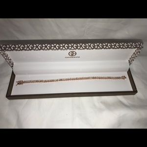 Gianni Bernini Rose Gold Diamond Bracelet